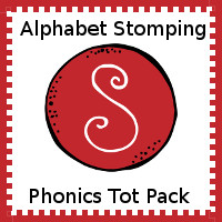 Alphabet Stomping Phonics S Pack - Tot-Preschool