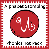 Alphabet Stomping Phonics U Pack - Tot-Preschool