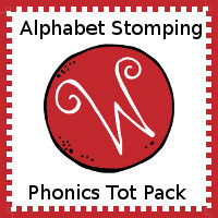 Alphabet Stomping Phonics W Pack - Tot-Preschool