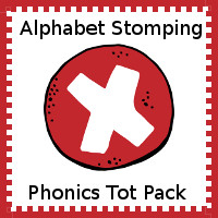 Alphabet Stomping Phonics X Pack - Tot-Preschool