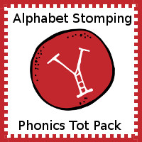 Alphabet Stomping Phonics Y Pack - Tot-Preschool