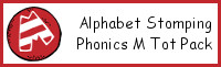 Alphabet Stomping Phonics M Pack - Tot-Preschool