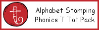 Alphabet Stomping Phonics T Pack - Tot-Preschool