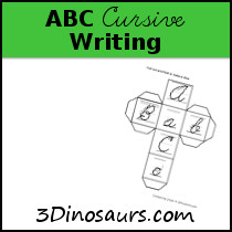 ABC Cursive Writing Pages