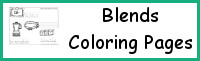 Blends Coloring Pages