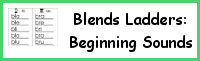 Blends Ladders Beginning Sounds