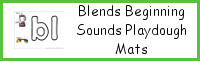 Blends Beginning Sounds Playdough Mats