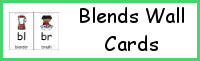 Blends Wall Cards
