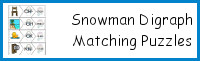 Snowman Digraph Matching Puzzles