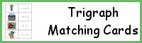Trigraph Matching Cards