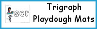 Trigraph Playdough Mats
