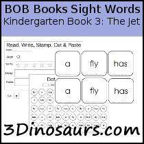 BOB Books Sight Words Kindergarten Book 3: The Jet