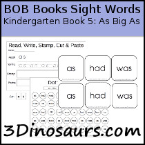 BOB Books Sight Words Kindergarten Book 5: As Big As