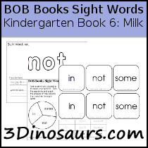 BOB Books Sight Words Kindergarten Book 6: Milk