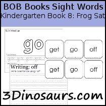 BOB Books Sight Words Kindergarten Book 8: Frog Sat