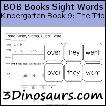 BOB Books Sight Words Kindergarten Book Book 9: The Trip