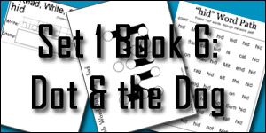 Set 1 Book 6: Dot and the Dog