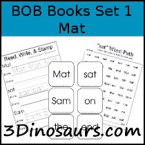 BOB Books Printables: Set 1 Book 1 Mat /></a>  <a href=