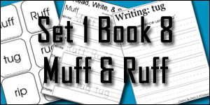 BOB Books Set 1 Book 8: Muff & Ruff