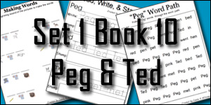 BOB Books Set 1 Book 10: Peg & Teg