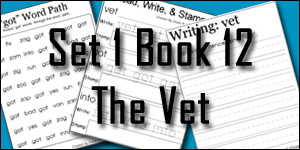 BOB Books Set 1 Book 12: The Vet