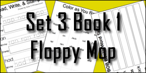 BOB Books Set 3 Book 1: Floppy Mop