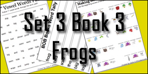 BOB Books Set 3 Book 3: Frog