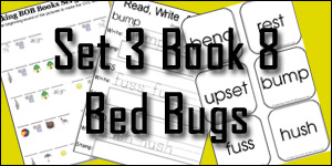 BOB Books Set 3 Book 8: Bed Bugs
