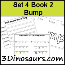 BOB Books Set 3 Book 2: Bump
