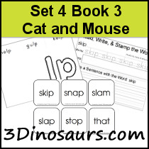 BOB Books Set 4 Book 3: Cat and Mouse
