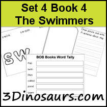 BOB Books Set 4 Book 4: The Swimmers