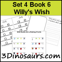 BOB Books Set 4 Book 6: Willy's Wish