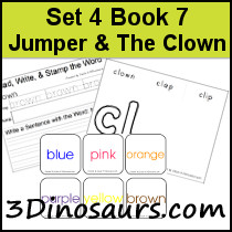 BOB Books Set 4 Book 7: Jumper and the Clown