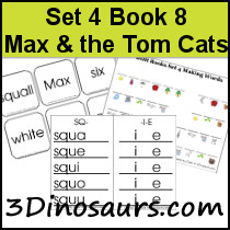 BOB Books Set 4 Book 8: Max and the Tom Cats
