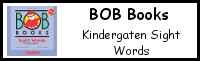Early Reading Printables: BOB Books Sight Words Kindergarten