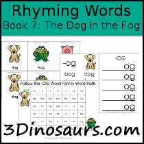 BOB Books Rhyming Words Book 7: The Dog in the Fog
