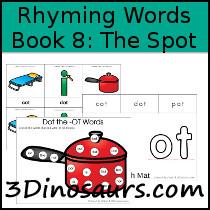 BOB Books Rhyming Words Book 8
