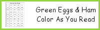 Green Eggs & Ham Color As You Read