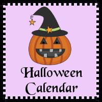 Free Halloween Calendar Set!