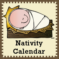 Nativity Calendar Cards