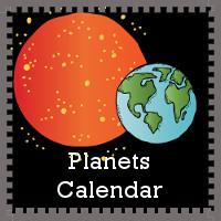 Free 2014 Planets Calendar Set