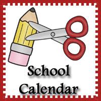 Free School Calendar Printables