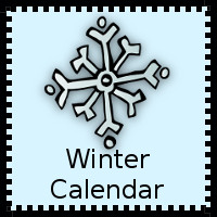Winter Calendars Cards