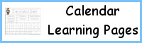 Calendar Learning Pages
