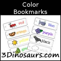 Color Bookmarks