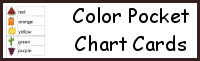 Color Pocket Chart Cards