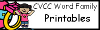CVC Word Family Printable