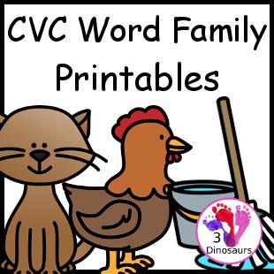AR Word Family Color and Match | MyTeachingStation.com