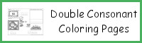 Double Consonant Coloring Pages
