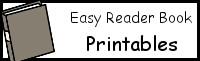 Easy Reader Books Printables